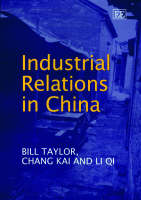 Industrial Relations in China (Hardback)