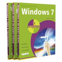 """Windows 7 in Easy Steps - the Complete Set: Windows 7 in Easy Steps, Windows 7 Tips & Techniques in Easy Steps, Office 2010 in Easy Steps: """"Windows 7"""", """"Windows 7 Tips & Techniques"""", """"Office 2010"""" - In Easy Steps (Paperback)"""