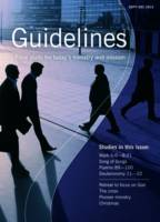 Guidelines: September-December 2012: Bible Study for Today's Ministry and Mission (Paperback)