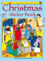 The Barnabas Christmas Sticker Book (Paperback)