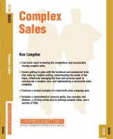 Complex Sales: Sales 12.04 - Express Exec (Paperback)