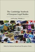 Cambridge Yearbook of European Legal Studies 2008-2009 - Cambridge Yearbook of European Legal Studies 11 (Hardback)