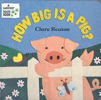 How Big is a Pig? (Board book)