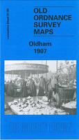 Oldham 1907: Lancashire Sheet 97.06 - Old O.S. Maps of Lancashire (Sheet map, folded)
