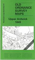 Upper Ardwick 1849: Manchester Sheet 35 - Old Ordnance Survey Maps of Manchester (Sheet map, folded)