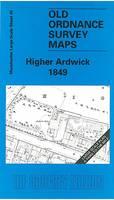 Higher Ardwick 1849: Manchester Sheet 40 - Old Ordnance Survey Maps of Manchester (Sheet map, folded)