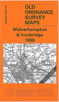 Wolverhampton and Ironbridge 1898: One Inch Map 153 - Old Ordnance Survey Maps of England & Wales (Sheet map, folded)
