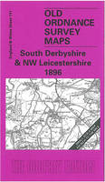 South Derbyshire and NW Leicestershire 1896: One Inch Sheet 141 - Old O.S. Maps of England and Wales (Sheet map, folded)