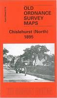 Chislehurst (North) 1895: Kent Sheet 8.10 - Old O.S. Maps of Kent (Sheet map, folded)