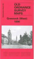 Greenock (West) 1896: Renfrewshire Sheet 2.05 - Old Ordnance Survey Maps of Renfrewshire (Sheet map, folded)