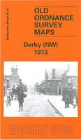 Derby (NW) 1913: Derbyshire Sheet 49.12 - Old O.S. Maps of Derbyshire (Sheet map, folded)