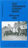 Milngavie 1896: Dumbartonshire Sheet 23.08 - Old Ordnance Survey Maps of Dumbartonshire (Sheet map, folded)