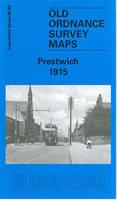 Prestwich 1915: Lancashire Sheet 96.09 - Old O.S. Maps of Lancashire (Sheet map, folded)