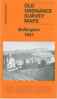 Bollington 1907: Cheshire Sheet 29.13 - Old O.S. Maps of Cheshire (Sheet map, folded)