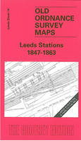 Leeds Stations 1847-1863: Leeds Sheet 14 - Old O.S. Maps of Leeds (Sheet map, folded)