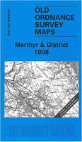 Merthyr and District 1908: One Inch Sheet 231 - Old Ordnance Survey Maps - Inch to the Mile (Sheet map, folded)
