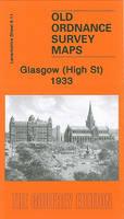 Glasgow (High St) 1933: Lanarkshire Sheet 6.11 (Sheet map, folded)