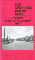 Glasgow (Bellahouston and Dumbreck) 1934: Lanarkshire Sheet 6.13 (Sheet map, folded)