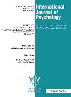 Indigenous Psychologies: A Special Issue of the International Journal of Psychology - Special Issues of the International Journal of Psychology (Paperback)