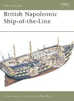 British Napoleonic Ship-of-the-line - Osprey New Vanguard S. No. 42 (Paperback)