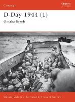 D-Day 1944: Omaha Beach Pt. 1: Omaha Beach - Osprey Campaign S. No. 100 (Paperback)