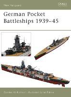 German Pocket Battleships 1939-45 - New Vanguard (Paperback)