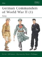 German Commanders of World War II: v.1: Army (Paperback)