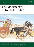 The Mycenaeans C.1650-1100 BC - Elite No.130 (Paperback)
