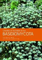 Checklist of the British and Irish Basidiomycota (Paperback)