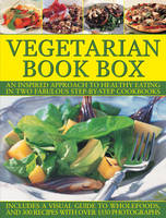 Vegetarian Book Box: An Inspired Approach to Healthy Eating in Two Fabulous Step-by-Step Cookbooks (Hardback)
