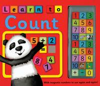 Learn to Count: with Magnetic Numbers to Use Again and Again! (Hardback)