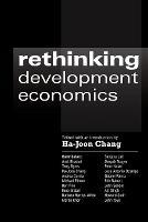 Rethinking Development Economics - Anthem Frontiers of Global Political Economy and Development 1 (Paperback)