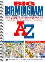 Big Birmingham Street Atlas - A-Z Street Atlas (Spiral bound)