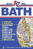 Bath Street Plan - A-Z Street Plan S. (Sheet map, folded)