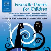 Favourite Poems for Children (CD-Audio)