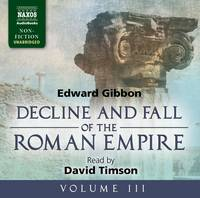 Decline and Fall of the Roman Empire: v. 3 (CD-Audio)