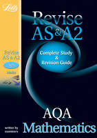 AQA AS and A2 Maths: Study Guide - Letts A-level Revision Success (Paperback)
