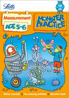 Measurement Age 5-6 - Letts Monster Practice (Paperback)
