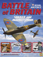 Battle of Britain: Sticker and Activity Book - RAF Squadron Series (Paperback)