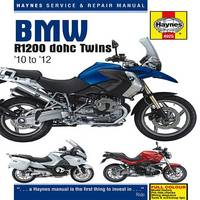 BMW R1200 Dohc Air-cooled Service and Repair Manual: 2010-2012 - Haynes Service and Repair Manuals (Hardback)