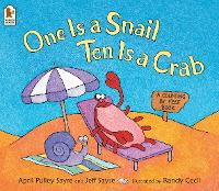 One Is a Snail, Ten Is a Crab: A Counting by Feet Book (Paperback)