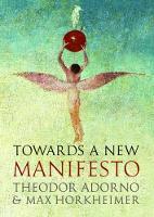 Towards a New Manifesto (Hardback)