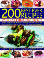 200 Best-ever Recipes With Just Four Ingredients (Paperback)