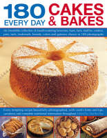 180 Great Every Day Cakes and Bakes: An Irresistible Collection of Mouth-watering Brownies, Buns, Bars, Muffins, Cookies, Pies, Tarts, Teabreads, Breads, Cakes and Gateaux Shown in 180 Photographs (Paperback)