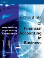 Essentials of Financial Accounting in Business (Paperback)