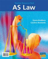 AS Law Teacher Resource Pack (Hardback)
