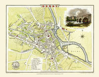 MAP OF HEREFORD 1806 BY COLE /& ROPER