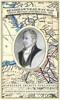 Bradshaw's Railway Map Great Britain and Ireland 1852 - George Bradshaw Railway Maps Collection (Sheet map, folded)