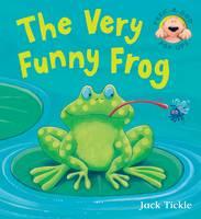The Very Funny Frog - Peek-a-boo Pop-ups (Hardback)