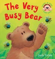The Very Busy Bear - Peek-a-boo Pop-ups (Hardback)
